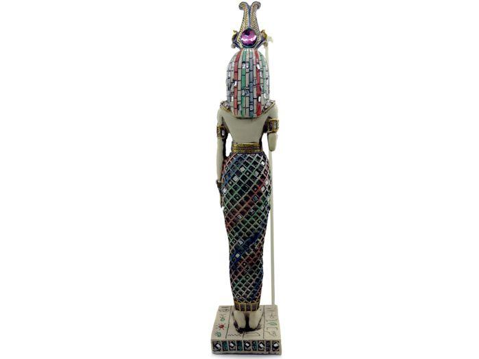 Deusa Ísis Marfim 36 cm