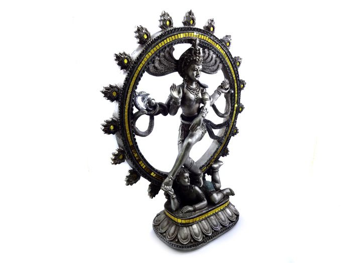 Estátua Shiva Nataraja - 36 x 29 cm