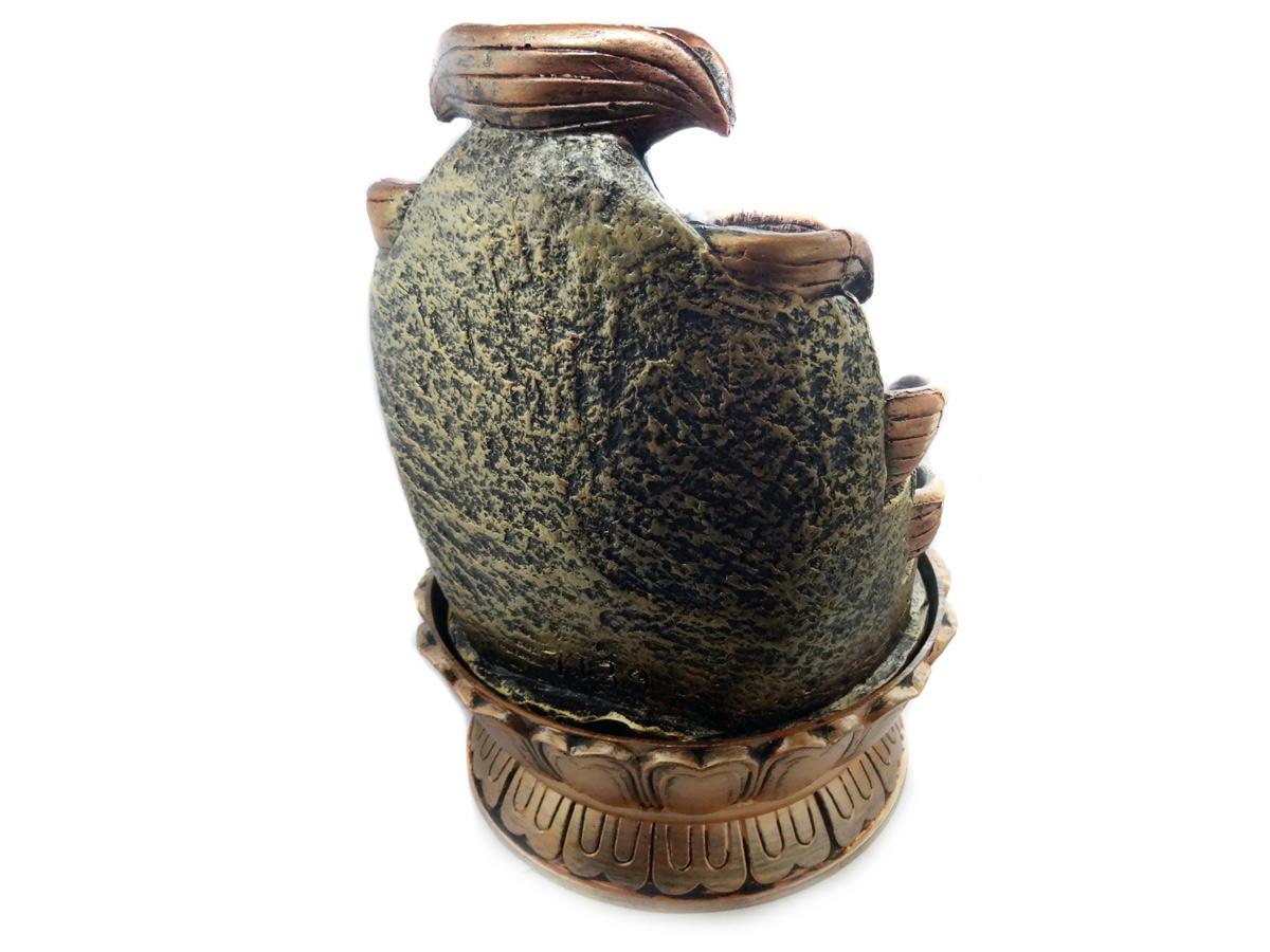 Fonte de Água Buda em Meditação 27cm