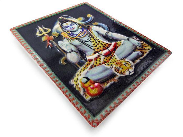 Imã de geladeira Shiva 7 x 5 cm