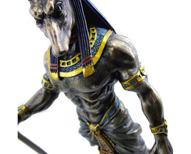 Imagem Deus Egípcio Anúbis