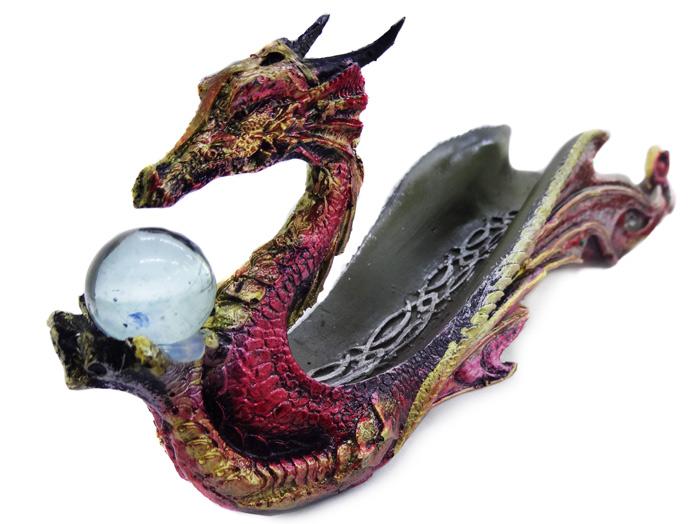 Incensário Canoa Dragão