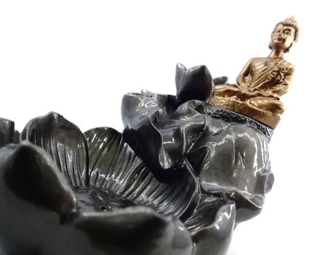 Incensário Cascata Buda 13 x 15 cm