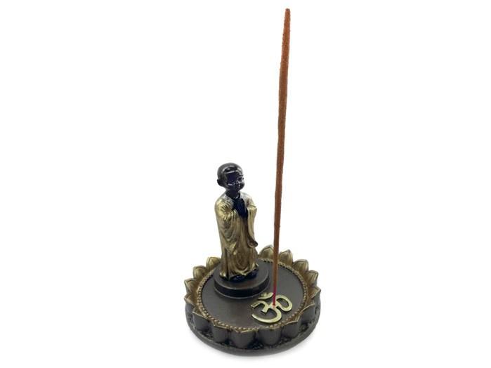 Incensário Monge OM (11 cm) - base redonda