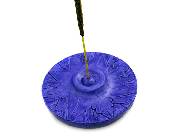 Incensário Mandala Azul - Redondo