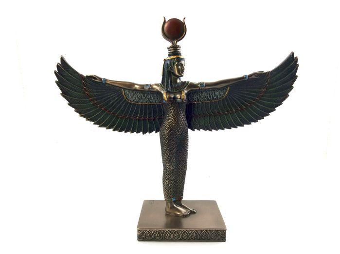 Aset Ísis - Deusa Egípcia 22 x 25 cm