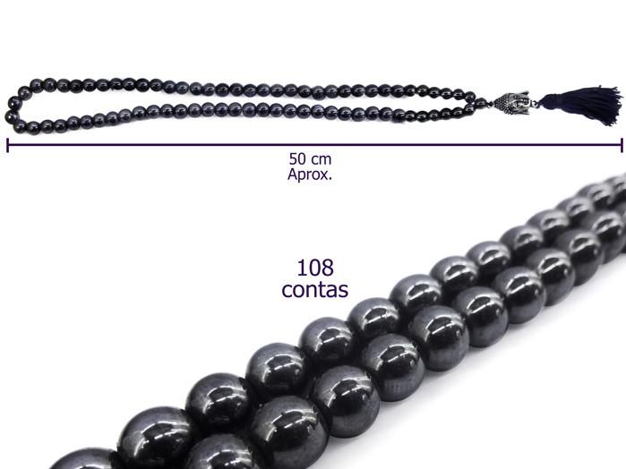 Japamala Hematita 108 contas