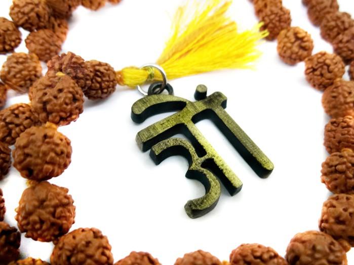 Japamala Rudraksha 108 Contas
