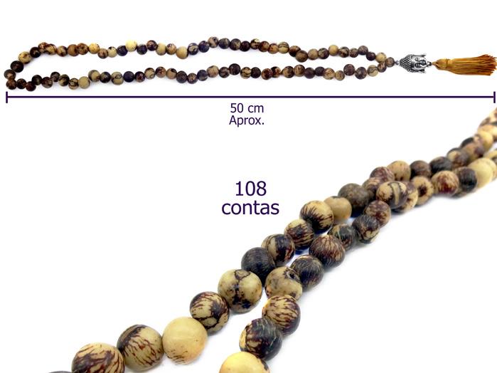 Japamala Semente de Açai 108 contas