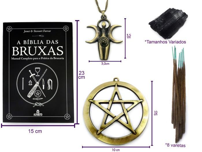Kit Triluna Bruxas Wicca Mãe