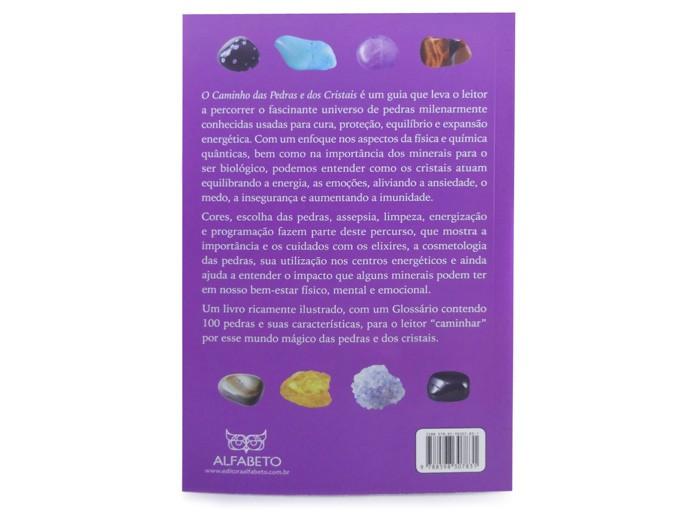 Livro Caminho das Pedras e dos Cristais