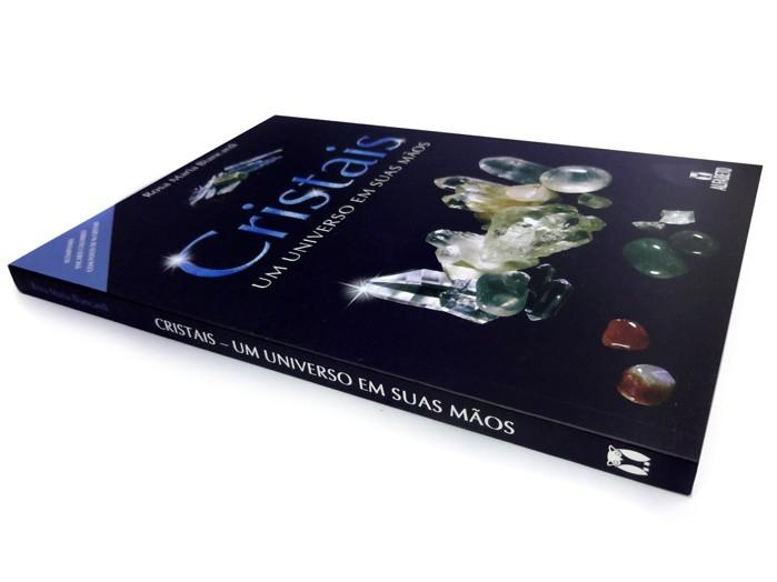 Livro Cristais um Universo em suas Mãos
