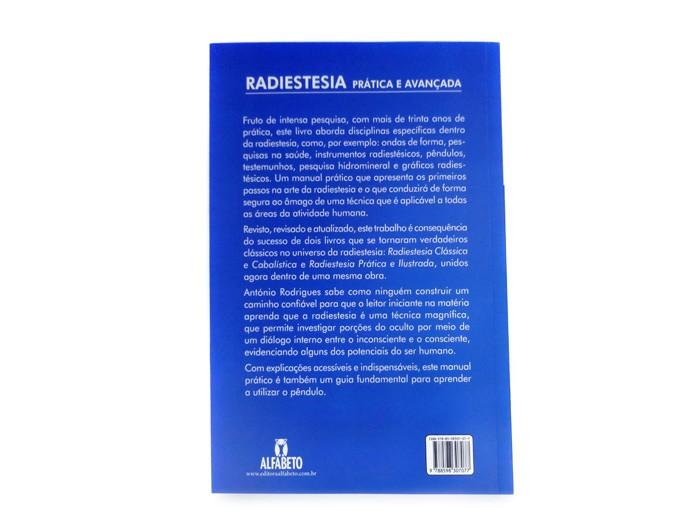 Livro Radiestesia Pratica e Avançada