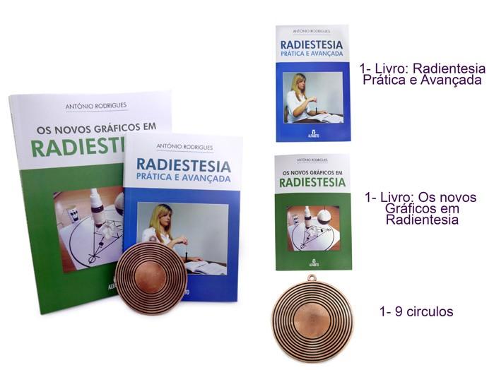 Livro Radiestesia Pratica e Avançada + Novos Gráficos em Radiestesia + Pantáculo Gráfico