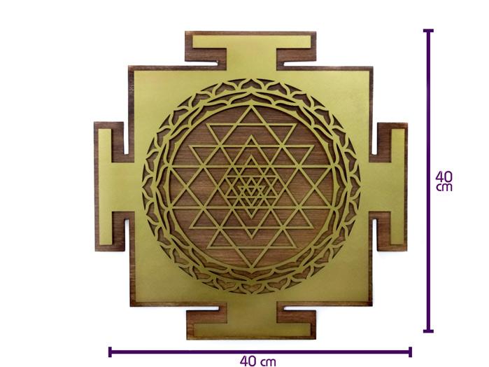 Mandala Yantra 40x40cm