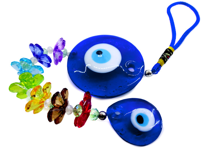 Mobile Olho Grego 7 Chakras Colorido - Médio