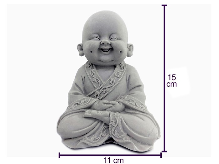 Monge Buda Sorrindo Pó de Marmore