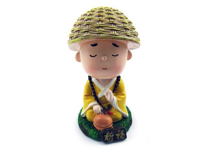 Monge Baby Meditando