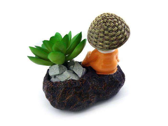 Monge Zen Meditando