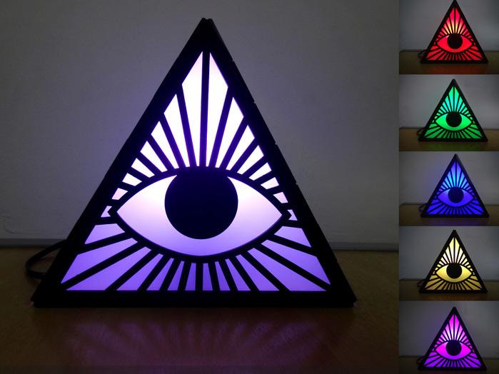 Olho de Deus Abajur e Luminária