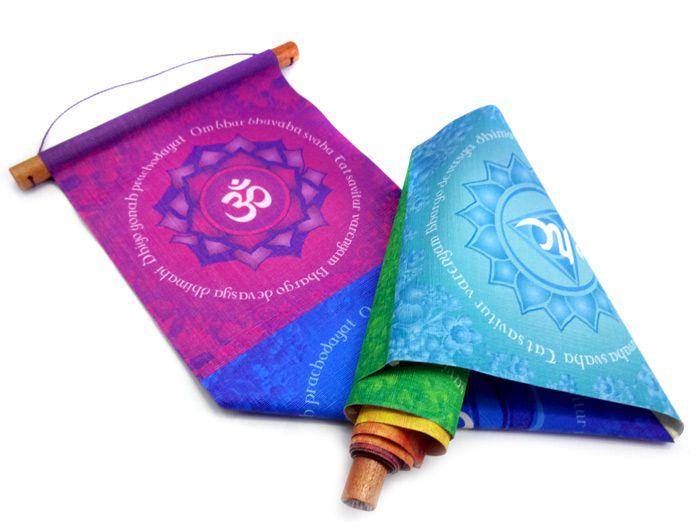 Panô Decoração Indiana Chakras
