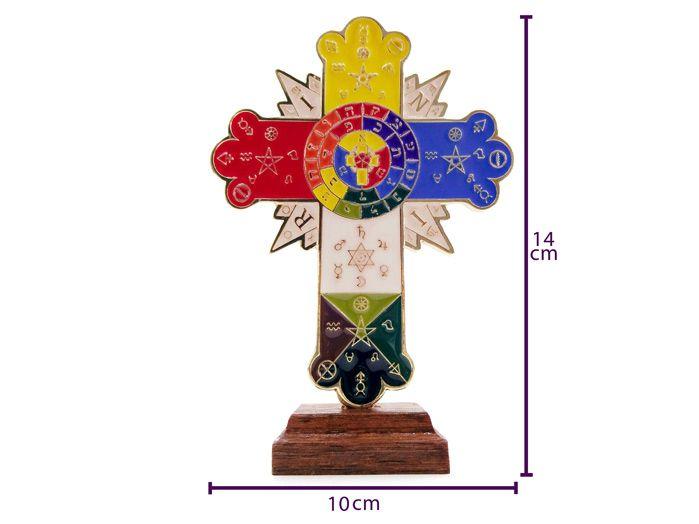 Pantáculo Cruz Hermética de Mesa