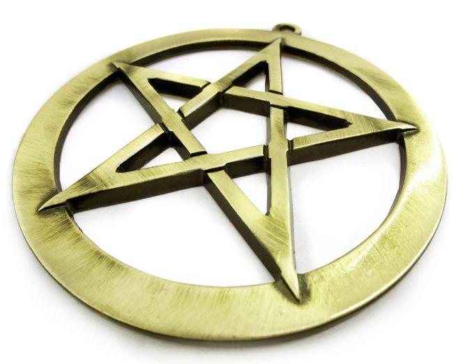 Pantáculo Pentagrama Estrela de 5 Pontas 10cm