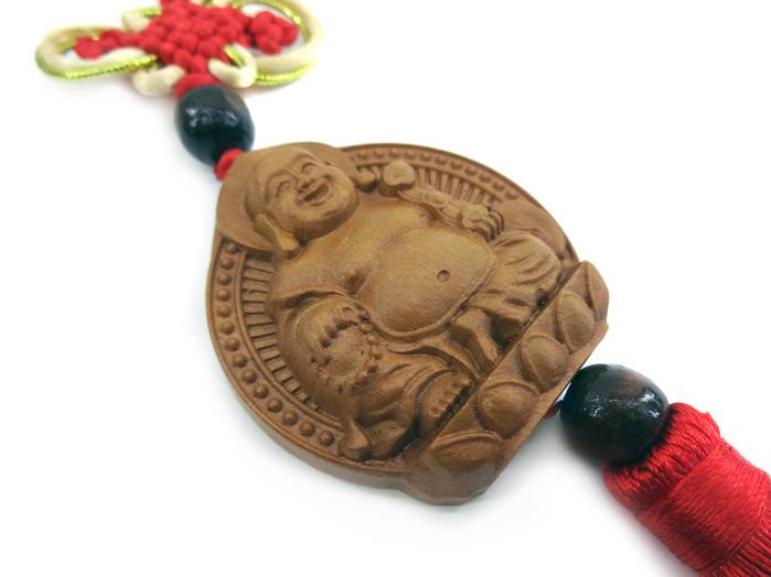 Pêndulo Chinês Buda Sidarta e Kuan Yin Guan