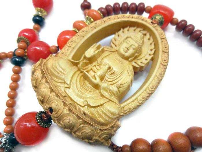 Pêndulo Chinês Kuan Yin Flor de Lotus
