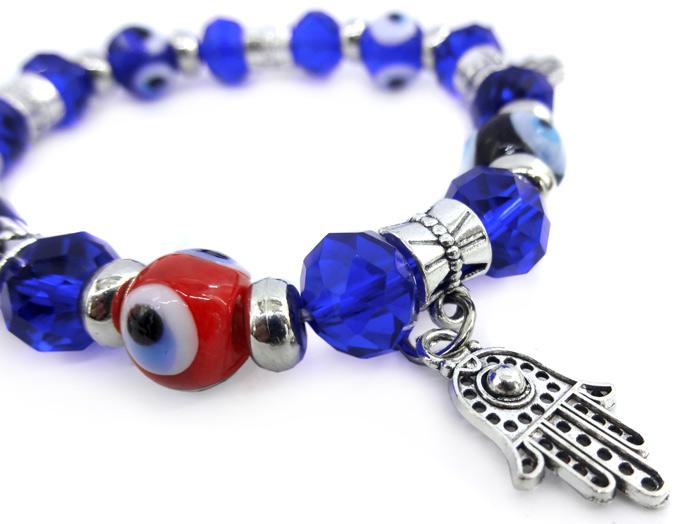Pulseira Olho Grego Amuleto de Proteção