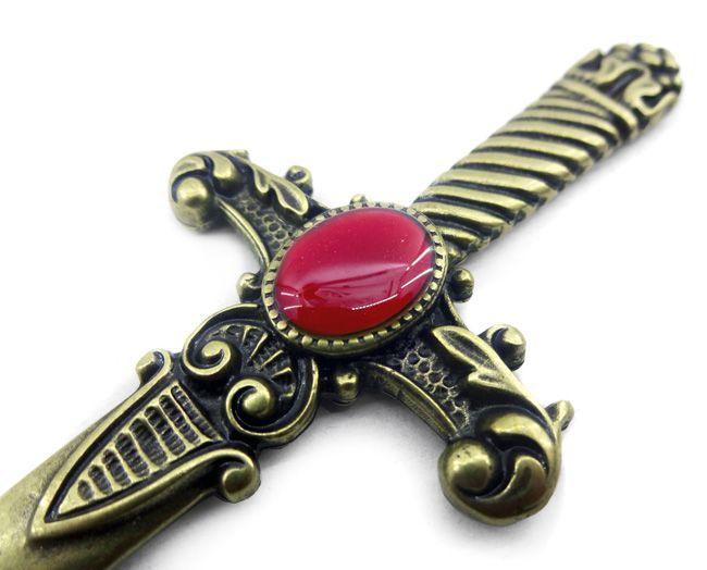 Punhal Athame Vermelho