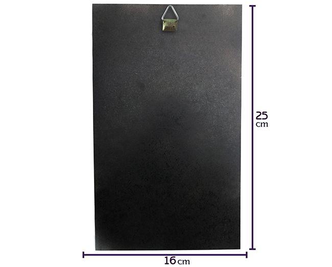 Quadro Elemento Primordial Fogo - 25x16cm MDF