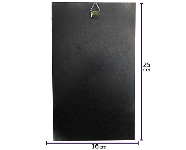 Quadro Elemento Primordial Terra - 25x16cm MDF