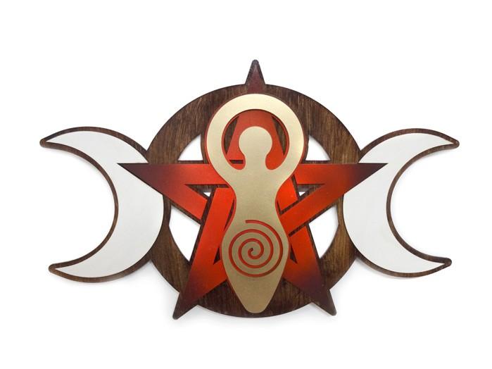 Quadro Triluna Wicca MDF