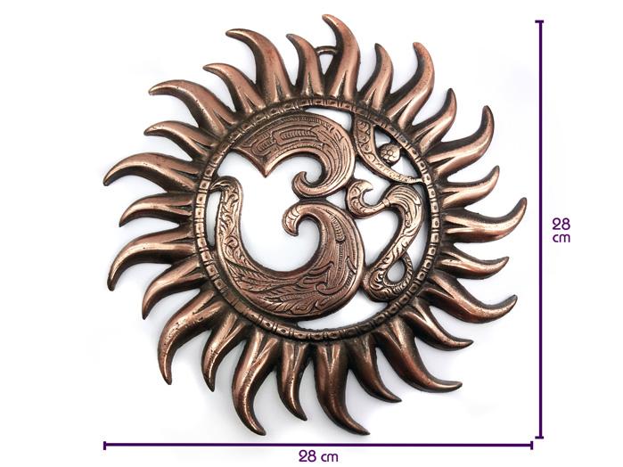 Raio de Sol  Estátua de Parede 25 cm