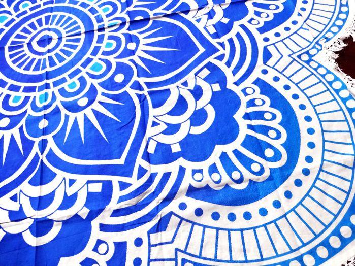 Canga Redonda Indiana - Azul Escuro