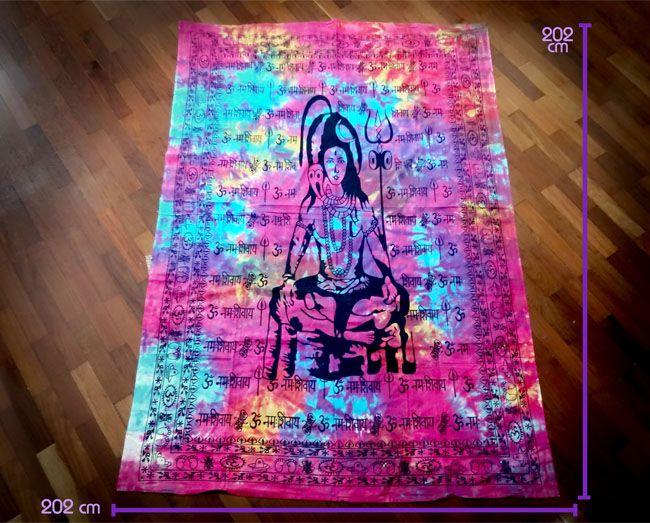Tapete Canga Meditação Shiva