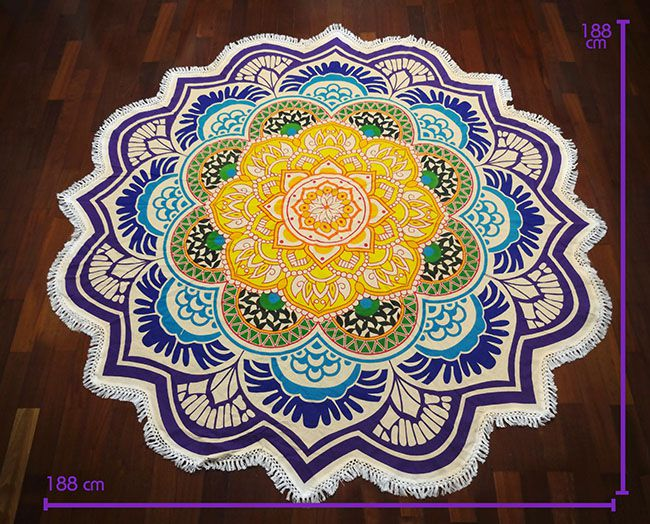 Tapete Meditação Mandala