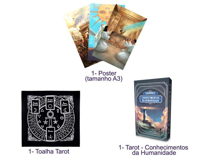 COMBO DE LEITURA - Tarot Conhecimentos da Humanidade