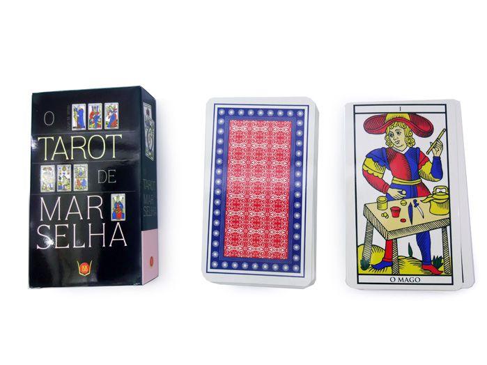 Tarot De Marselha Baralho 78 Cartas - 12 x 7 cm