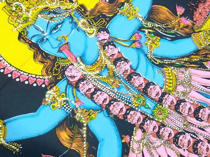 Tecido Indiano Estampado Kali Panô