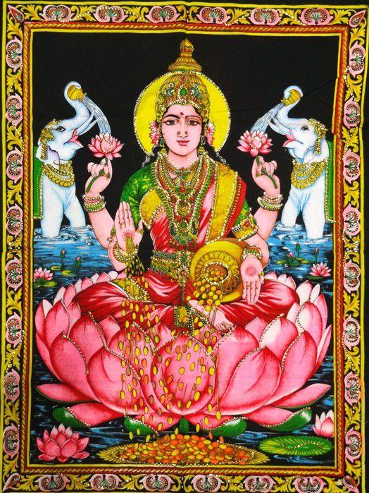 Tecido Indiano Estampado Lakshmi Panô