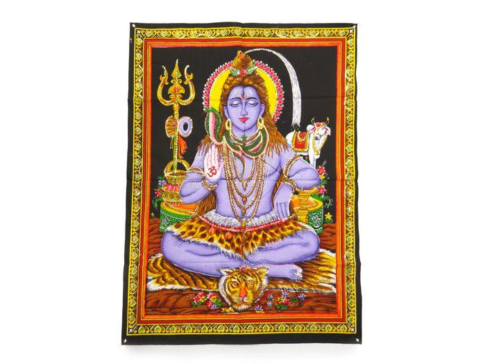 Tecido Indiano Estampado Shiva Panô