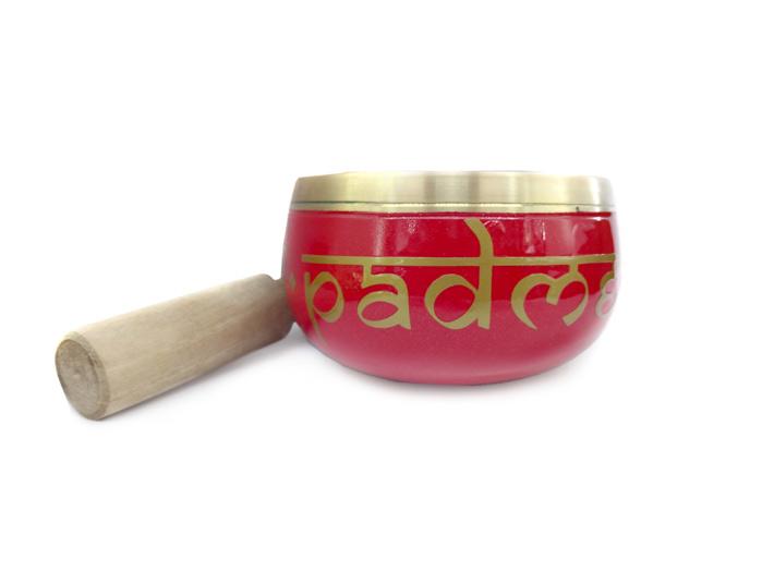 Orin Tigela Sino Cantante Tibetano Coloridas 8 cm