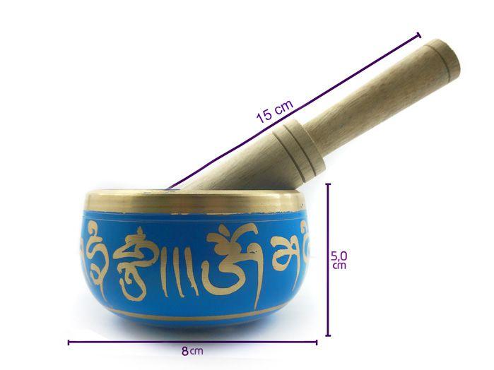 Tigela Tibetana Cantante - 8cm