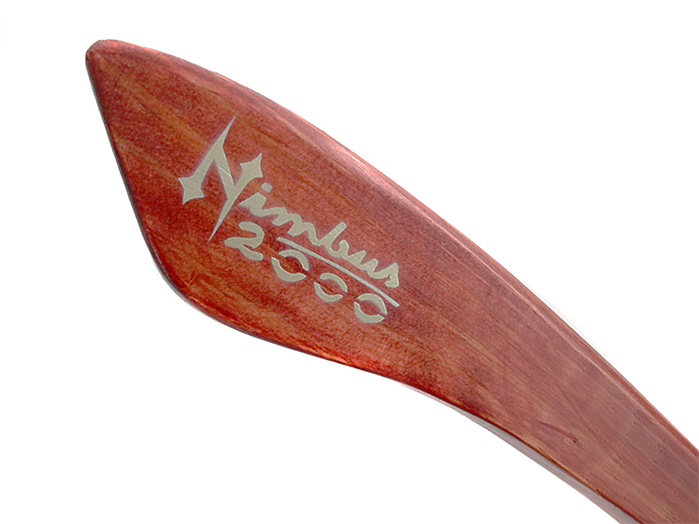 Vassoura Nimbus 2000 Harry Potter Pequena (artesanal)