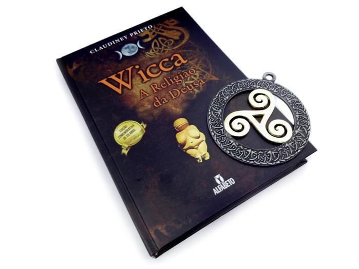 Wicca a Religião da Deusa e Pantáculo Triskle