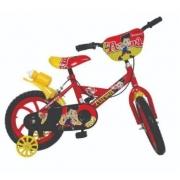 Bicicleta Aro 14 Masculina Bike da Turma Vemelha Unitoys 1501