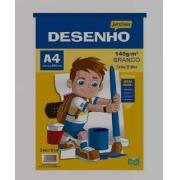 Bloco Desenho A4 20 Fls 140g Branco Jandaia 40960