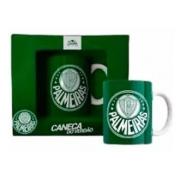 Caneca Porcelana 330ml Palmeiras Sude PAL003/005/006-CAN